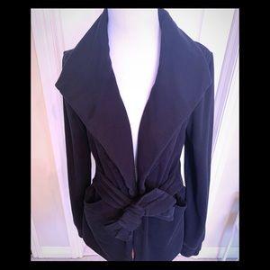 Anthropologie sweatshirt blazer / jacket